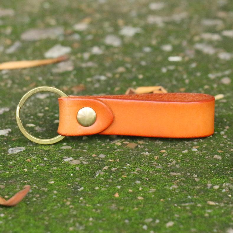 Móc khóa da bò handmade