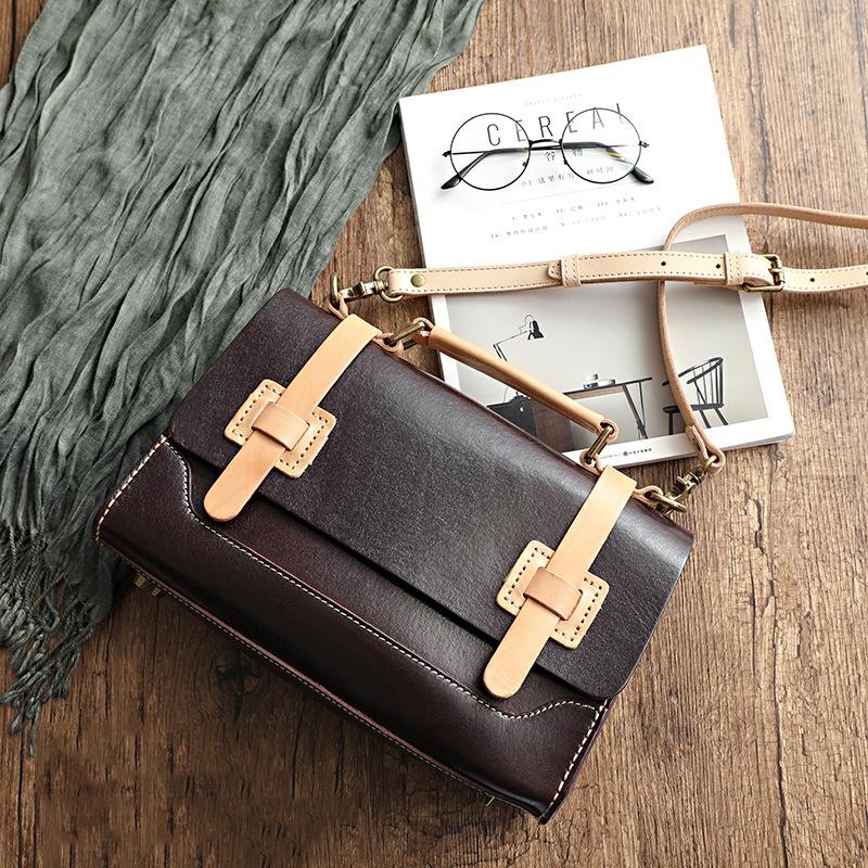 Túi xách da thật handmade Velisa H1016