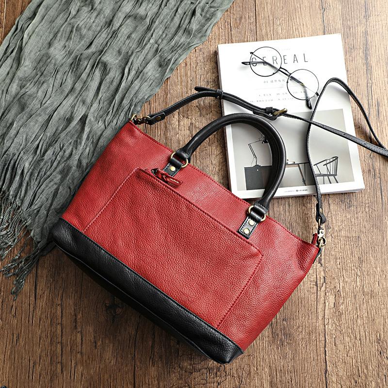 Túi xách da handmade Velisa H1018